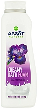 Parfums et Produits cosmétiques Bain moussant crémeux Iris et vanille - Apart Natural Body Care Bath Foam