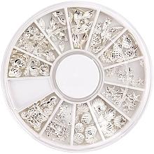 Parfums et Produits cosmétiques Décorations en carrousel pour ongles - Peggy Sage Carousel For Nail Decorations Summer Silver