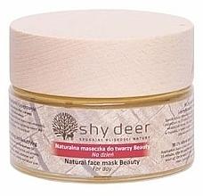 Parfums et Produits cosmétiques Masque à l'eau de rose de Damas pour visage - Shy Deer Natural Face Mask Beauty