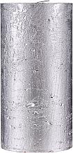 Parfums et Produits cosmétiques Bougie naturelle, 15 cm, Lueur d'argent - Ringa Silver Glow Candle
