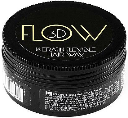 Cire coiffante à la kératine - Stapiz Flow 3D Keratin Flexible Hair Wax