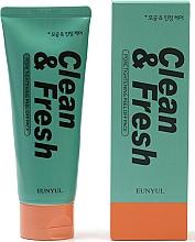 Parfums et Produits cosmétiques Mousse nettoyante à l'extrait de lime pour visage - Eunyul Clean & Fresh Pore Tightening Foam Cleanser