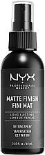 Parfums et Produits cosmétiques Spray fixateur de maquillage, fini mat - NYX Professional Makeup Matte Finish Long Lasting Setting Spray