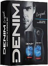 Parfums et Produits cosmétiques Denim Original - Set (gel douche/250ml + déodorant spray/150ml)