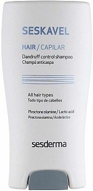 Shampooing à la piroctone olamine et acide lactique - SesDerma Laboratories Seskavel Kavel Dandruff Control Shampoo — Photo N2