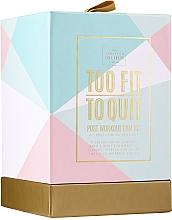 Parfums et Produits cosmétiques The Scottish Fine Soaps Company To Fit To Quit - Set (gel douche/75ml + shampooing/75ml + crème musculaire/75ml + bandeau de sport pour cheveux)