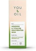 Huile à l'huile d'amande douce pour visage - You & Oil Nourish & Vitalise Dehydrated Skin Face Oil — Photo N3
