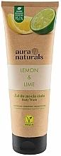 Parfums et Produits cosmétiques Gel douche, Citron et Lime - Aura Naturals Lemon & Lime Body Wash