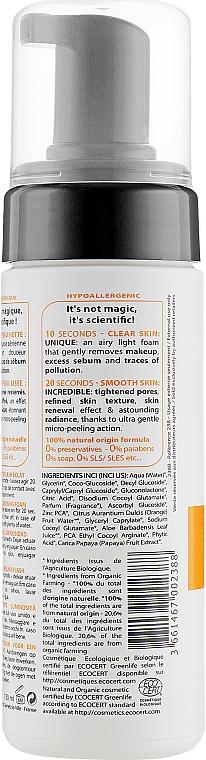 Mousse nettoyante à l'extrait de papaye pour visage - Novexpert Vitamin C Express Radiant Cleansing Foam — Photo N2