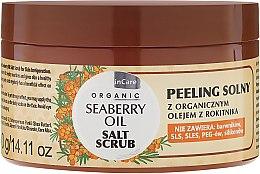 Parfums et Produits cosmétiques Gommage au sel à l'huile d'argousier - GlySkinCare Organic Seaberry Oil Salt Scrub