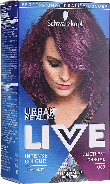 Coloration cheveux - Schwarzkopf Live Urban Metallics Intense Colour