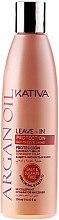 Parfums et Produits cosmétiques Après-shampooing léger sans rinçage à l'huile d'argan - Kativa Argan Oil