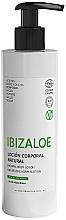 Parfums et Produits cosmétiques Lotion bio à l'aloe vera et acide hyaluronique pour corps - Ibizaloe Natural Aloe Vera Body Lotion