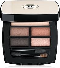 Parfums et Produits cosmétiques Palette de fards à paupières - Chanel Les Beiges Healthy Glow Natural Eyeshadow Palette