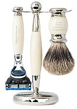 Parfums et Produits cosmétiques Coffret cadeau - Taylor of Old Bond Street Fusion (razor/1szt + sh/brush/1szt + stand/1szt)
