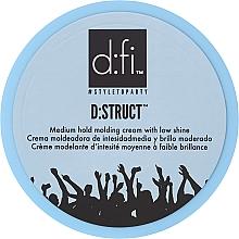 Parfums et Produits cosmétiques Crème modelante à faible brillance et fixation moyenne - D:fi D:struct Medium Hold Molding Cream