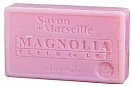 Parfums et Produits cosmétiques Savon de Marseille au magnolia et fleur de thé - Le Chatelard 1802 Soap Magnolia and Tea Flowers