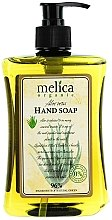 Parfums et Produits cosmétiques Savon liquide à l'extrait d'aloé vera - Melica Organic Aloe Vera Liquid Soap