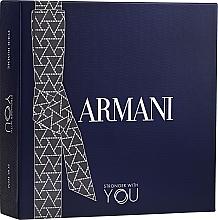 Parfums et Produits cosmétiques Giorgio Armani Emporio Armani Stronger With You - Coffret (eau de toilette/100ml + eau de toilette/mini/15ml + gel douche 75ml)