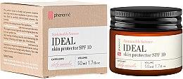 Parfums et Produits cosmétiques Crème protectrice à l'extrait de châtaigne pour visage - Phenome Ideal Skin Protector SPF 10