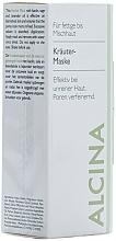 Masque à l'huile de lavande pour visage - Alcina Herbal Mask — Photo N2