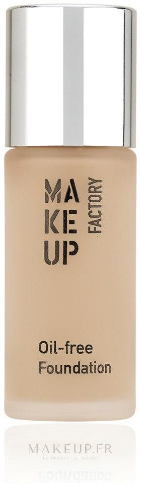 Fond de teint non gras - Make Up Factory Oil Free Foundation — Photo 34 - Rosy Porcelain