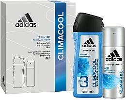 Parfums et Produits cosmétiques Adidas Climacool Men - Set (déodorant/150ml + gel douche/250ml)