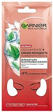 Parfums et Produits cosmétiques Patchs au thé vert pour contour des yeux - Garnier Skin Naturals Patches