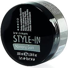 Parfums et Produits cosmétiques Pâte coiffante fléxible - Inebrya Style-In Memory Gum Paste