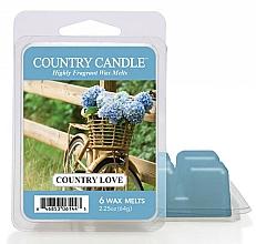Parfums et Produits cosmétiques Cire parfumée pour lampe aromatique - Country Candle Country Love Wax Melts