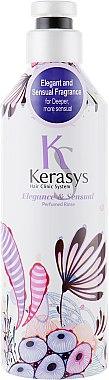 Après-shampoing parfumé pour cheveux secs et abîmés - KeraSys Elegance & Sensual Perfumed Rince — Photo N1
