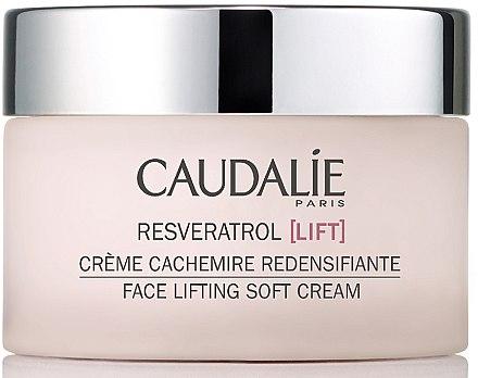 Crème redensifiante à l'extrait de beurre de karité pour visage - Caudalie Resveratrol Lift Face Lifting Soft Cream