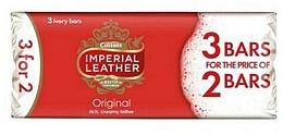 Parfums et Produits cosmétiques Savon classique, 3 pcs - PZ Cussons Imperial Leather Original Soap