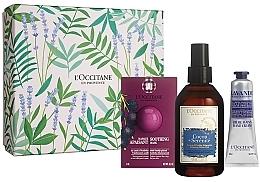 Parfums et Produits cosmétiques Coffret cadeau - L'Occitane (f/mask/6ml + mist/100ml + h/cr/30ml)