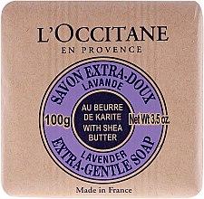 Savon au beurre de karité et lavande - L'occitane Shea Butter Extra Gentle Soap-Lavender — Photo N2