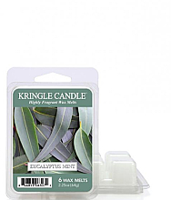 Parfums et Produits cosmétiques Cire parfumée pour lampe aromatique - Kringle Candle Eucalyptus Mint Wax Melt