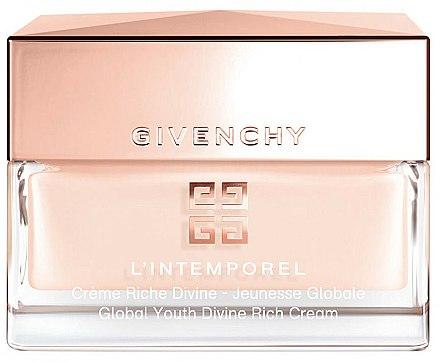Crème à l'extrait de raisin pour visage - Givenchy L`Intemporel Global Youth Divine Rich Cream — Photo N1