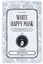 Parfums et Produits cosmétiques Masque tissu pour visage - Kocostar White Happy Mask