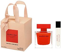 Parfums et Produits cosmétiques Narciso Rodriguez Narciso Rouge - Coffret cadeau (eau de parfum/90ml + eau de parfum/mini/10ml)