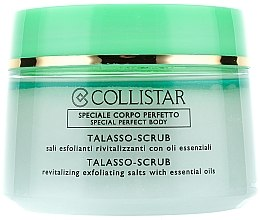 Parfums et Produits cosmétiques Gommage revitalisant au sel et huiles essentielles pour le corps - Collistar Talasso Scrub