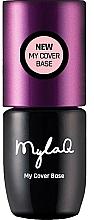 Parfums et Produits cosmétiques Base pour vernis semi-permanent - MylaQ My Cover Base