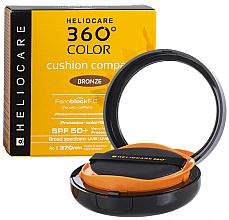 Parfums et Produits cosmétiques Poudre compacte bronzante avec écran solaire pour visage SPF 50 - Cantabria Labs Heliocare 360º Color Cushion Compact Pearl