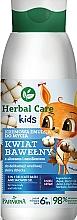 Parfums et Produits cosmétiques Gel douche et bain moussant au jus d'aloe vera pour visage, corps et cheveux - Farmona Herbal Care Kids