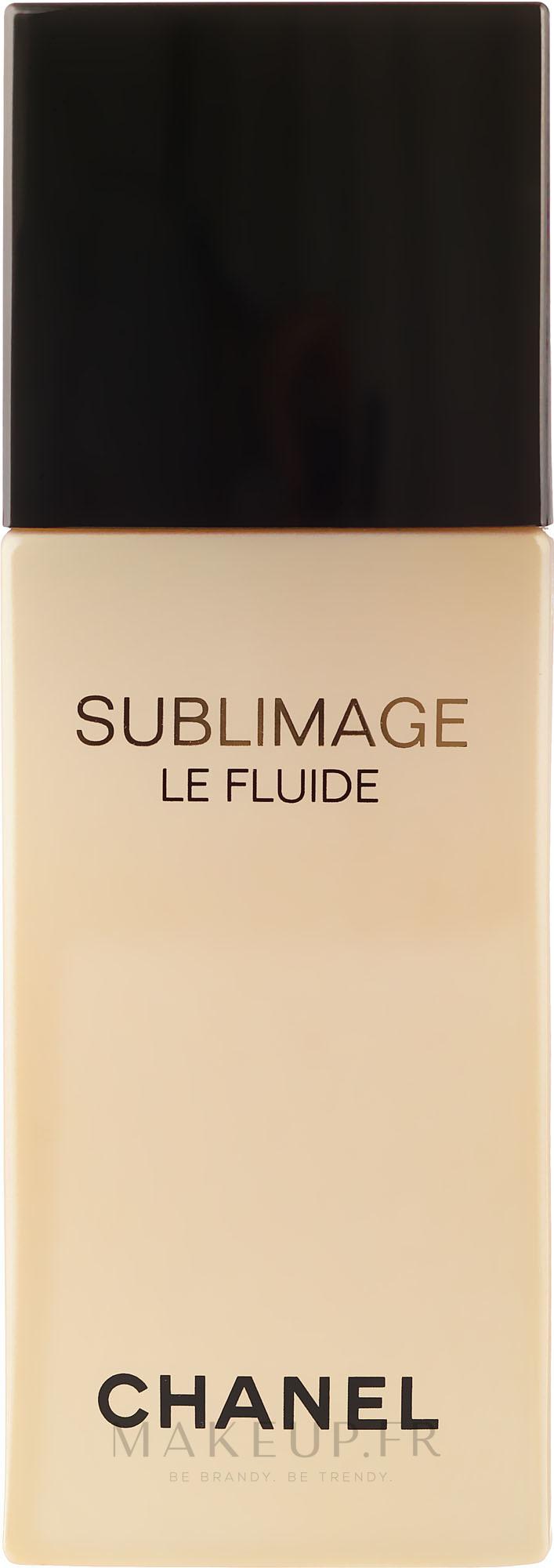 Fluide régénérant à l'huile de colza pour visage et cou - Chanel Sublimage Le Fluide Ultimate Skin Regenerating — Photo 50 ml