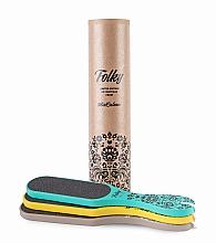 Parfums et Produits cosmétiques MiaCalnea Folky - Set (râpes à pieds 3pcs), 80/120