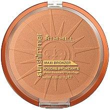 Parfums et Produits cosmétiques Poudre pour visage - Rimmel Sunshimmer Maxi Bronzer