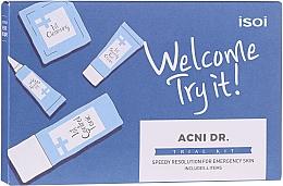 Parfums et Produits cosmétiques Coffret cadeau - Isoi Acni Dr. Trial Kit (tonic/30ml + gel/cr/7ml + ser/3ml + gel/7x1.3ml)