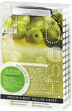 Parfums et Produits cosmétiques Soin et modelage des pieds à l'olive - Voesh Pedi In A Box Deluxe Pedicure Olive Sensation (35 g)