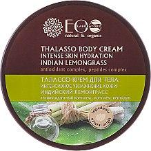 Parfums et Produits cosmétiques Crème à effet thalasso à la citronnelle indienne et algues marines pour corps - ECO Laboratorie Natural & Organic