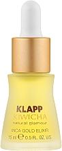 Parfums et Produits cosmétiques Élixir d'huiles précieuses pour visage - Klapp Kiwicha Inca Gold Elixir